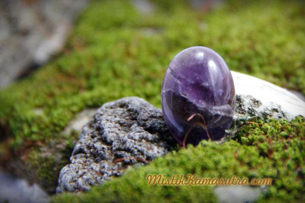 Batu Akik Kecubung Asihan Hitam dari Magelang